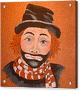 Sad Sack The Clown Acrylic Print
