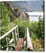 Saddle Trail Bridge Acrylic Print