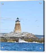 Saddleback Ledge Light Acrylic Print