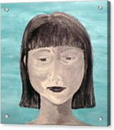 Sadness Acrylic Print