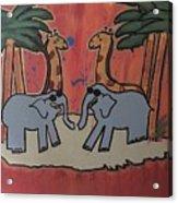 Safari Acrylic Print