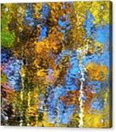 Safari Mosaic Abstract Art Acrylic Print