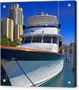 Yacht - Safe Harbor Series 39 Acrylic Print