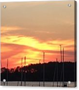 Safe Harbor Sunset Acrylic Print