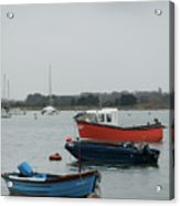 Safe Harbour On A Murky Day Acrylic Print
