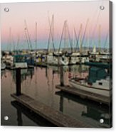 Safe In Harbor Acrylic Print