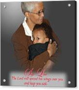 Safe Love Acrylic Print