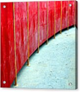 Safety Alley Acrylic Print