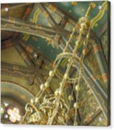 Sage Chapel Ceiling And Light Acrylic Print