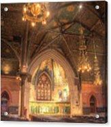 Sage Chapel II Acrylic Print