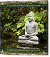 Sage Of Peace Acrylic Print
