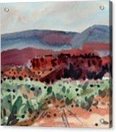 Sage Sand And Sierra Acrylic Print