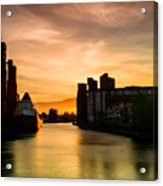 Saginaw At  The Standard Elevator Acrylic Print