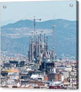 Sagrada Familia 2 Acrylic Print