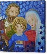 Sagrada Familia Acrylic Print by Maria Matheus Maria Santeira