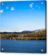 Saguaro lake fishing framed print by stephanie forrer for Saguaro lake fishing