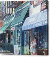 Sahadis Atlantic Avenue Brooklyn Acrylic Print