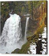 Sahalie Falls, Oregon Acrylic Print
