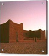 Sahara House Acrylic Print
