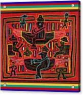 Sahilas And Argars In Their Hammocks Acrylic Print