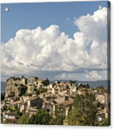Saignon Village Provence  Acrylic Print