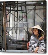 Saigon Lady Acrylic Print
