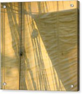 Sail And Shadows Acrylic Print