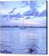 Sail Away Devils Island Acrylic Print