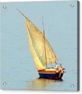 Sail Boat Madagascar  Acrylic Print