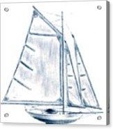 Sail Boat Acrylic Print