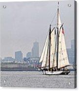 Sail Boston 2017 Union And Spirit Of South Carolina Acrylic Print