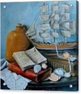 Sail By Tale Acrylic Print