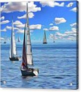 Sail Day Acrylic Print