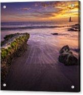 Sail Into The Sunset Acrylic Print