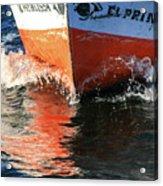 Sail On The Nile Acrylic Print
