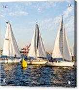 Sail Race Acrylic Print