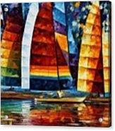 Sail Regatta Acrylic Print