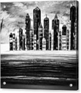 Sail With The City 16 Acrylic Print
