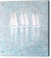 Sailaway By V.kelly Acrylic Print