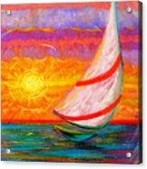 Sailaway Acrylic Print