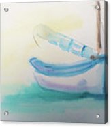 Sailboat At Rest 4 Acrylic Print