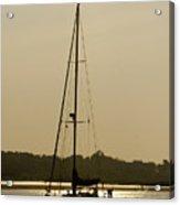 Sailboat At Rest Acrylic Print