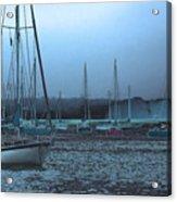 Sailboat Harbor Acrylic Print