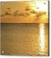 Sailboat On The Horizon 3 Acrylic Print