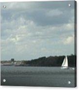 Sailboat Rounds South Beach Acrylic Print