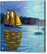 Sailboat-  Sailing- Come Sail Away Acrylic Print