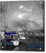 Sailboat Series 14 Acrylic Print