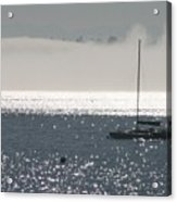 Sailboat Silhouette Acrylic Print