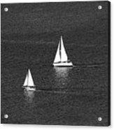 Sailboats 1 Acrylic Print
