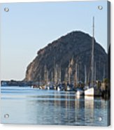 Sailboats In Morro Bay Acrylic Print